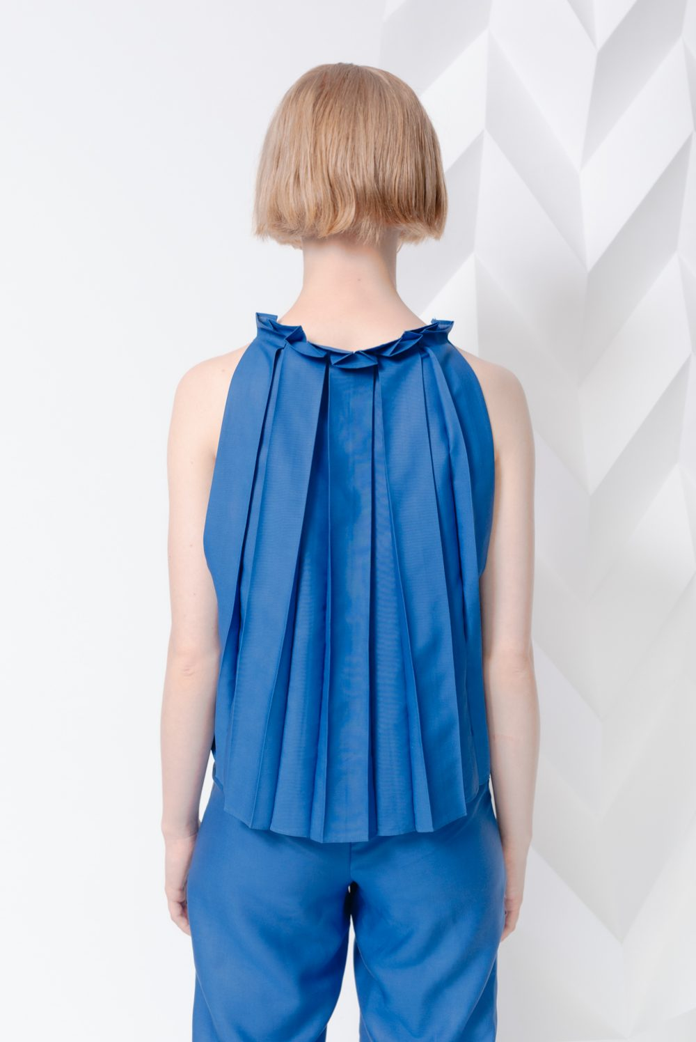 Lily Top Blue
